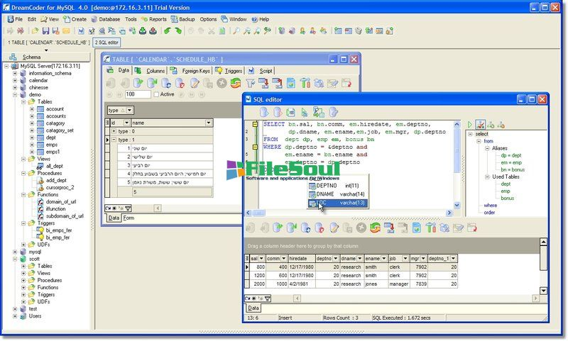 what is mysql database