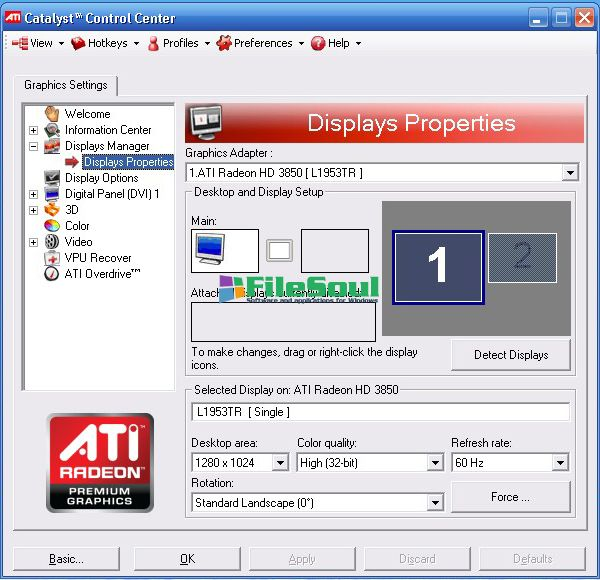 amd catalyst control center free download windows 7 32 bit