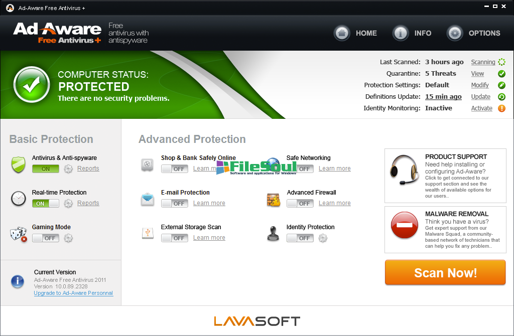 Adaware Antivirus Free Download (2019 Latest) for Windows ...