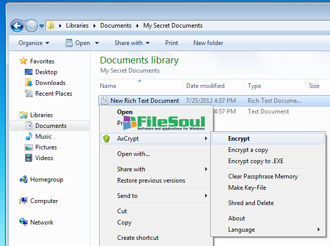 Download AxCrypt 2 1 1573 0 for Windows - FileSoul com