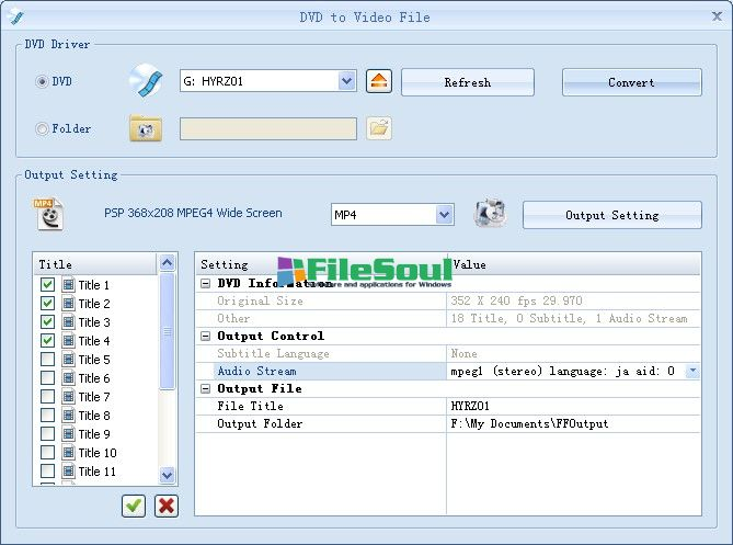 Download Format Factory 3 1 1 for Windows - FileSoul com