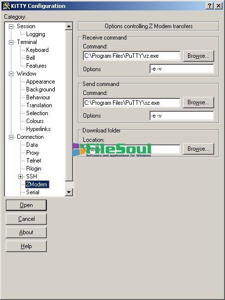 Download KiTTY 0 70 0 10 Telnet/SSH Client for PC Windows for