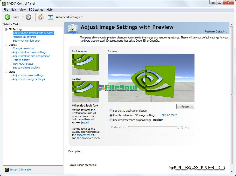 nvidia control panel download windows 7 32 bit