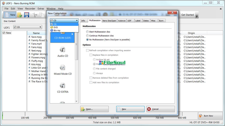 Download Nero Burning Rom 7 8 5 0 for Windows - FileSoul com