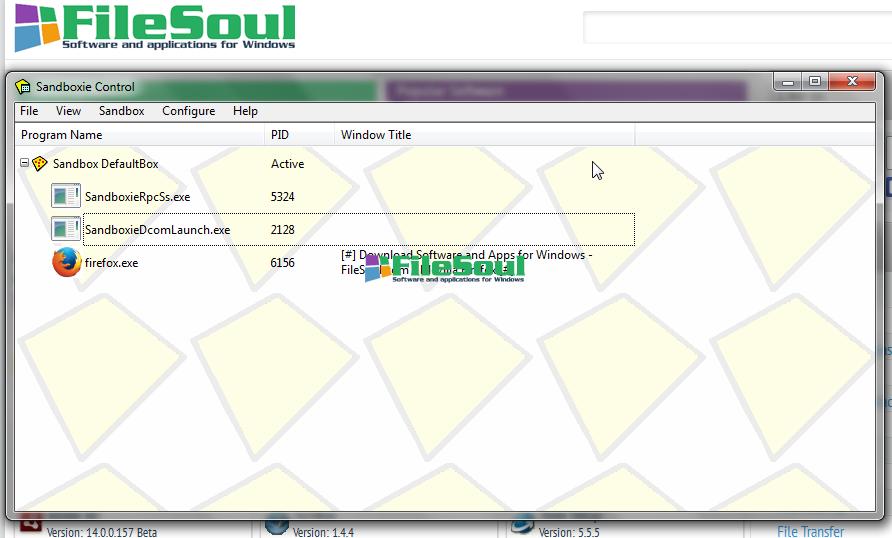 Download Sandboxie 5 28 for Windows - FileSoul com