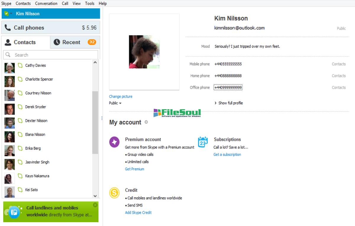 skype version 7.40.0.104 download