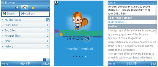 UC Browser6.1.2015.1007 screen capture 1