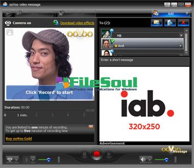Download ooVoo 3 7 1 13 for Windows - FileSoul com